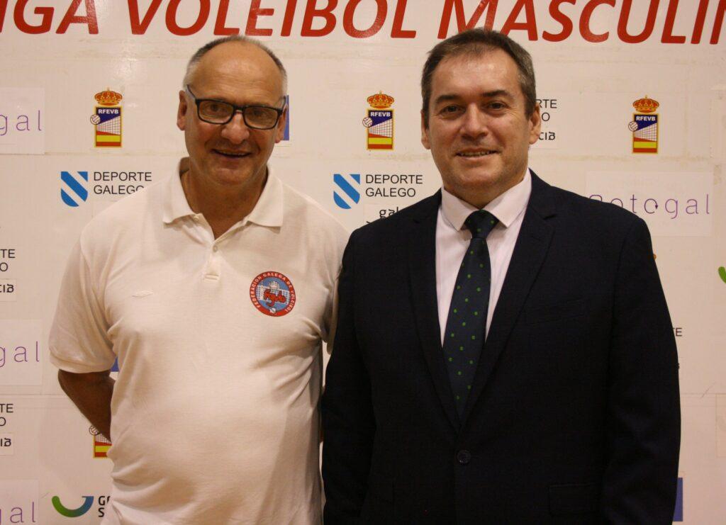 Este sábado na XXXVII Copa Galicia masculina de Boiro fíxose oficial o nomeamento coma máximo dirixente da arbitraxe galega.