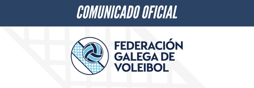 Comunicado oficial sobre as concentracións das Seleccións Galegas da pasada fin de semana en Quiroga